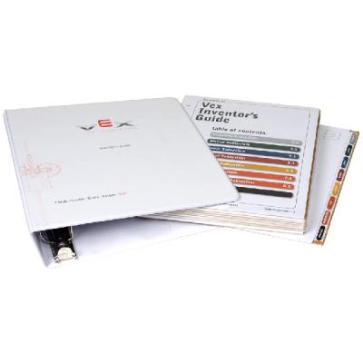 276-2178 Руководство по сборке на бумажном носителе для конструктора VEX