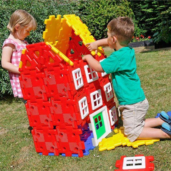 Полидрон Гигант «Строительство дома». 4-7 лет