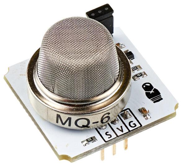Датчик сжиженного углеводородного газа MQ-6 (Troyka-модуль)