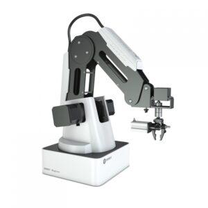 Четырёхосевой учебный робот-манипулятор с модульными сменными насадками